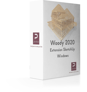 Woody pour SketchUp Windows